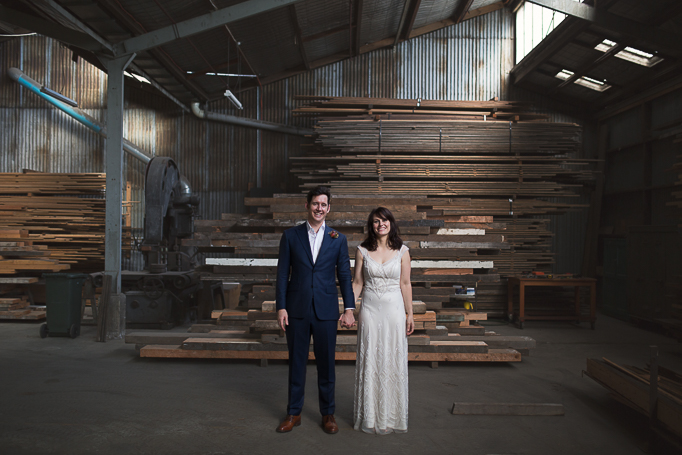 Laurens Hall warehouse wedding Melbourne Pixie Rouge Photography