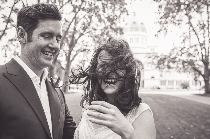 Carlton Gardens wedding Melbourne - Pixie Rouge Photography