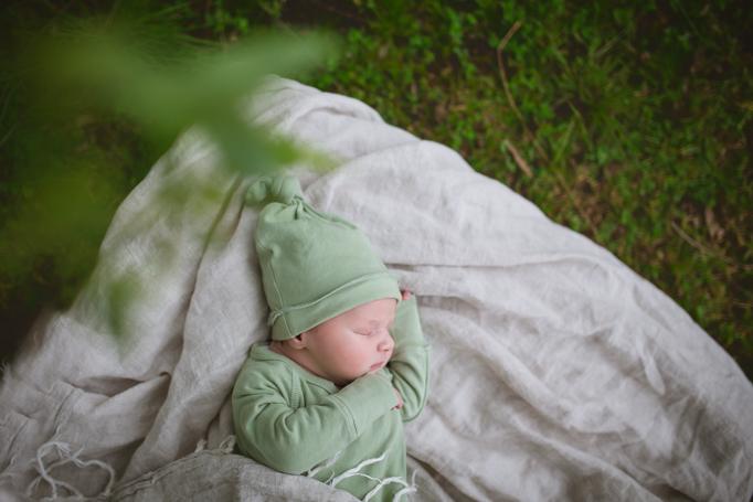 Melbourne's western suburbs lifestyle newborn photographer
