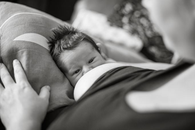 lifestyle newborn photographer Werribee Melbourne - baby Harrison